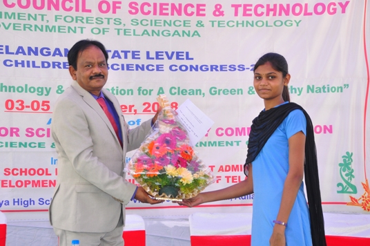 Telangana State Level Event of 26th NCSC 2018 image9